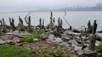 Balancing Rocks Along Hudson River