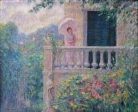 Henri Lebasque - Lady on the Balcony