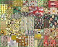 Vintage 50s fabrics