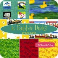 10 rubber ducks