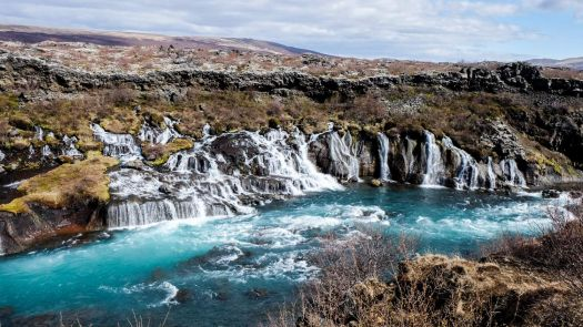 Gullfoss Falls, Gullfossi, Iceland