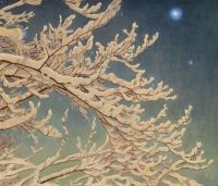 Gustaf Fjaestad, Winter Night