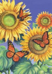 Sunflower Butterflies