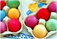 Dyed Easter Eggs Free Image