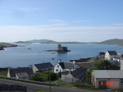 Castle Bay and Kisimul Castle, Barra