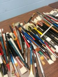 soooo many brushes!