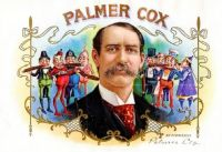 Palmer Cox Cigar Box Label ~ Creator of the ''Brownies''