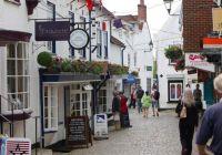 Shopping in Lymington, Hampshire