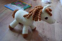 háčkovaný koník / crochet horse