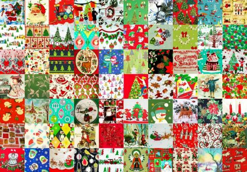 MORE VINTAGE CHRISTMAS PATCHWORK