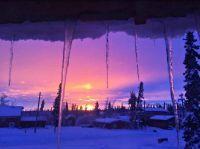 Arctic Circle Sunset-Dec-28-2015-Cheynne-Norberg