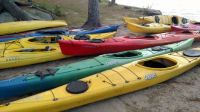 Kayaks at New England Outdoor Center