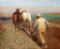 """An Autumn Morning Ploughing"""