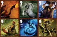 Mythical Stamps