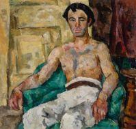 Petr Petrovich Konchalovsky (Russian, 1876–1956), Portrait of the Artist Levon Bunatian (1920)
