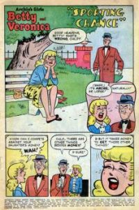 Betty and Mr Lodge: Sporting Chance