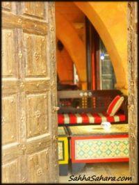 Peeking in the cafe... Tunisia