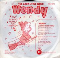 Sad Sack and Wendy 45rpm record