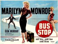 BUS STOP - 1956 MOVIE POSTER  MARILYN MONROE, DON MURRAY