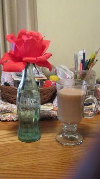 A Rose, A Coke & Coffee
