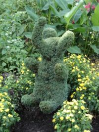 Elephant at Buchart Gardens