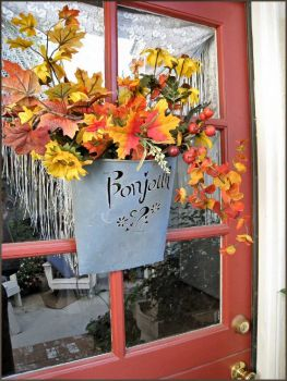Autumn Door Decor