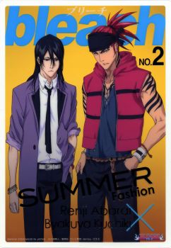bleach No.2  summer fashion
