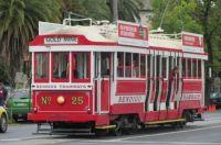 """Bendigo's vintage """"talking"""" tram"""