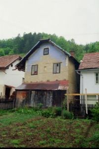Old house in Kraljeva Sutjeska, Bosnia