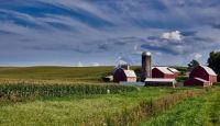 barns and silos, iowa