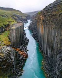 Beautiful Canyon in Iceland!