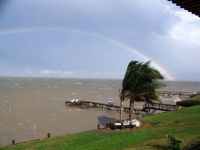 Port Lavaca, TX.  RainBow Right