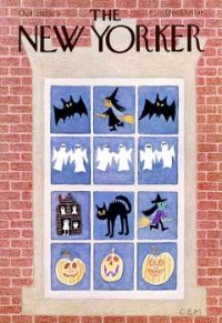 Halloween cover for The New Yorker magazine, October 29,1979
