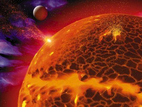 3D Hot Planet