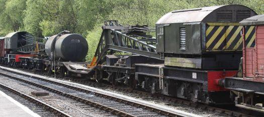 Swanage Railway Norden Cranes