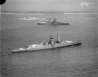 Warships at the Spithead Fleet Review of 1937