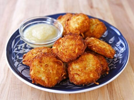 The latkes