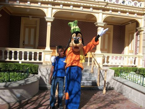 Mikey and Goofy