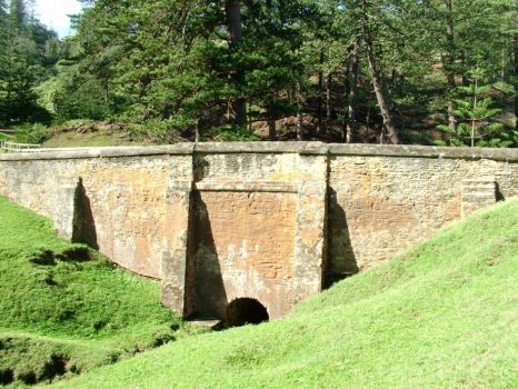 """Bloody Bridge"": Norfolk Island."