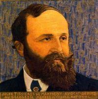Ernest Biéler (Swiss, 1863–1948), Portrait de Jules Tissières