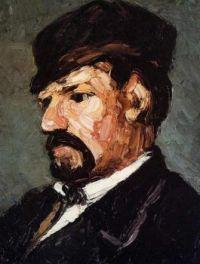 Paul Cézanne: Porträt Antoine Dominique Sauveur Aubert (1866)