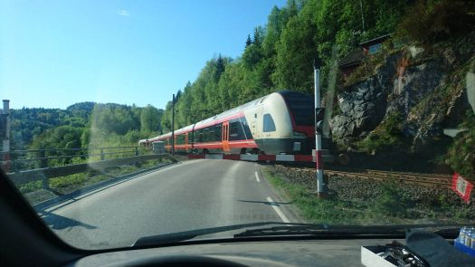 Here's the train...