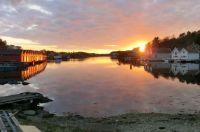 Sunset in Hellvik - Norway