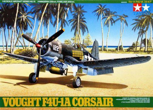 Tamiya Aircraft Series Vought F4U-1A Corsair 1/48 N°70