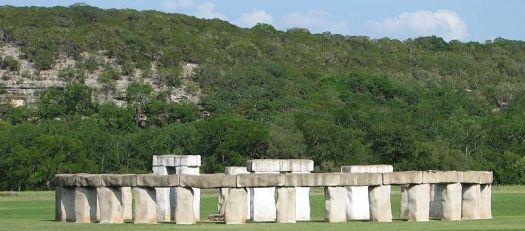 Stonehenge II in Hunt, Texas