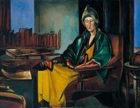 'Edith Sitwell' By Wyndham Lewis