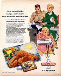 Vintage Swanson ad