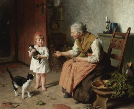 """Felix Schlesinger, """"Visiting Grandma"""""""