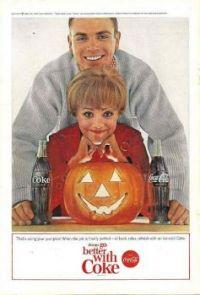 Vintage Halloween - Coke advertisement