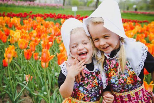 2 ~ 'Kids around the world' ~ Getting the giggles!  :-)) ~ (NEDERLAND)